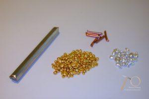 Material zur Herstellung von Trauringen